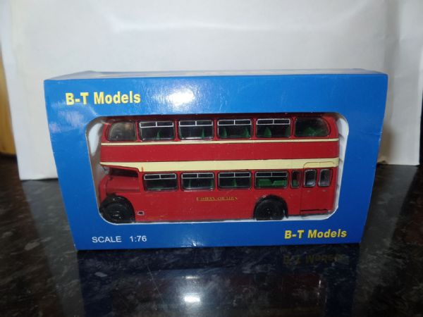 B T Models B112A 1/76 OO Scale Bristol Lodekka LD Bus Closed Back Eastern Counties route 239